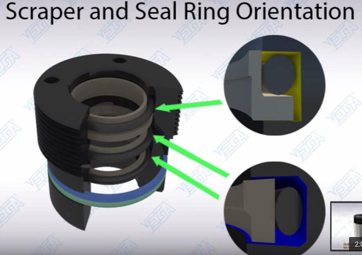 Scraper Seal Orientation