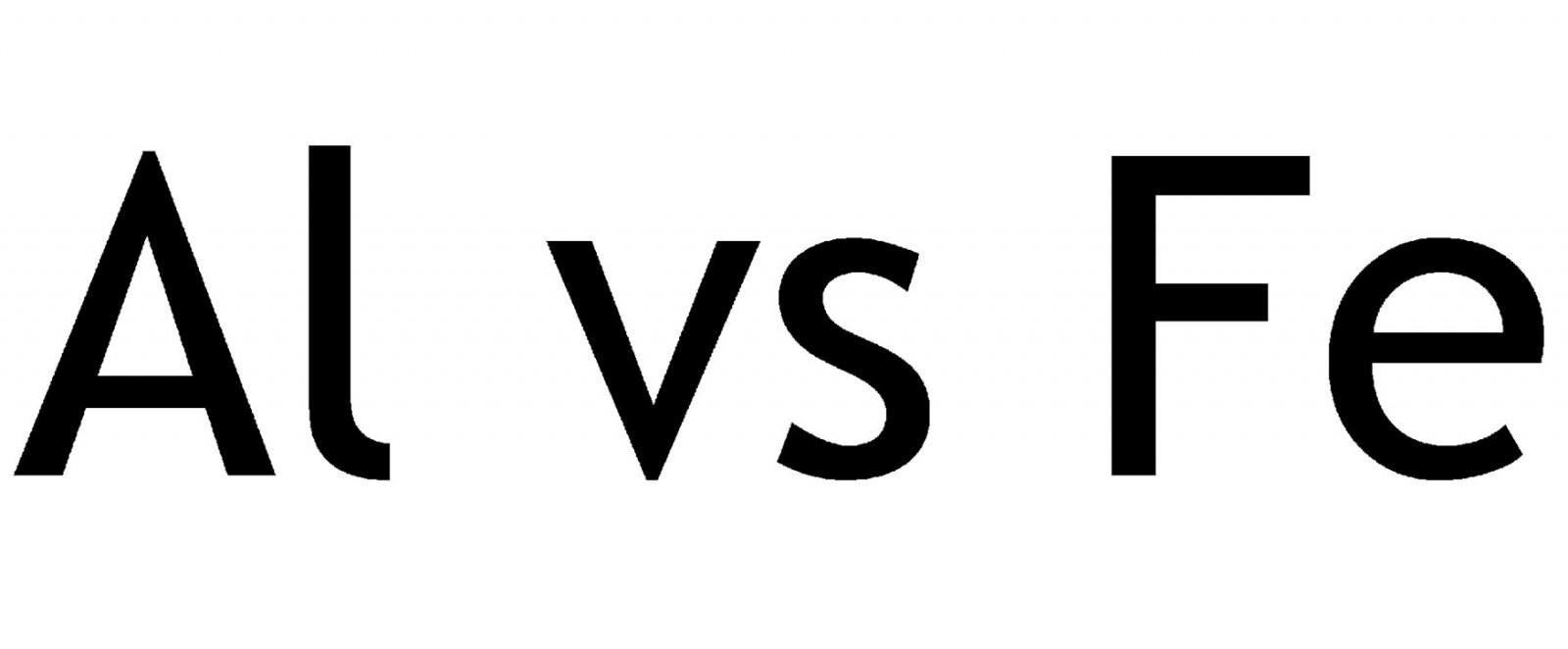 Al vs Fe