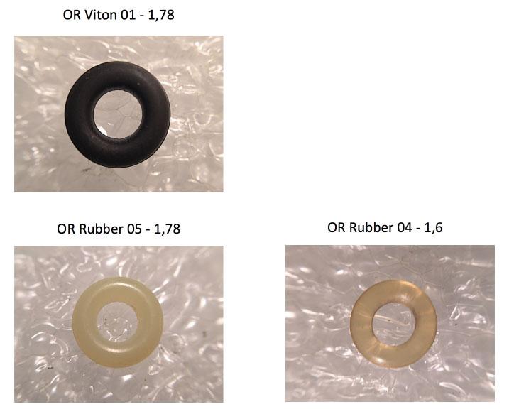 V260CF O-Ring Versions