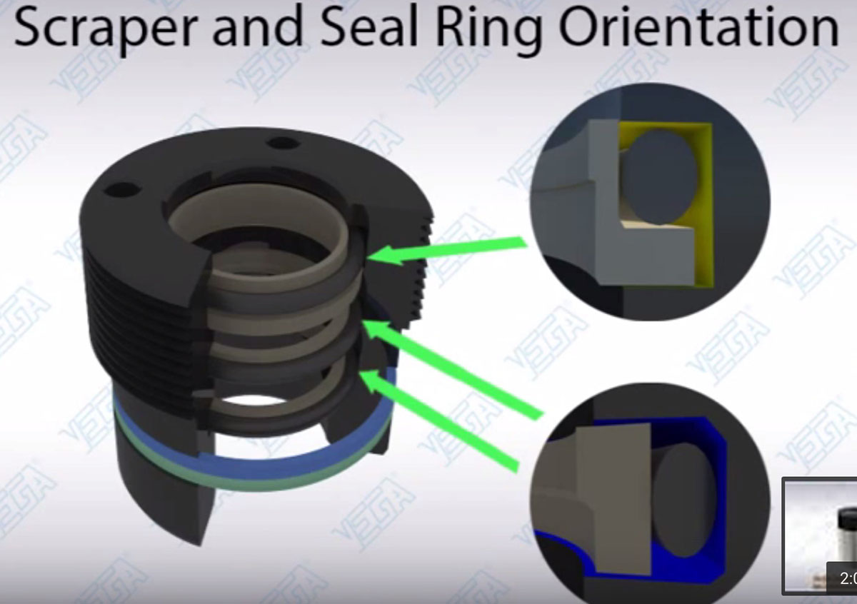 Scraper Seal Orientation